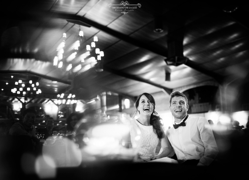 Artesano de la Luz - fotos de boda en la sobremesa
