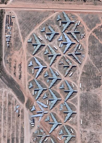 Cementerio de Aviones TUCSON -Arizona