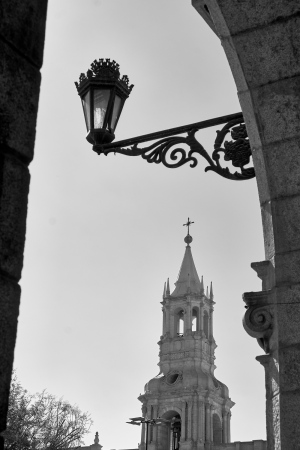 Plaza de Arequipa, Perú.