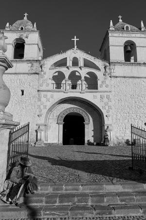 Iglesia Santa Ana de Maca, Provincia de Caylloma, Perú.