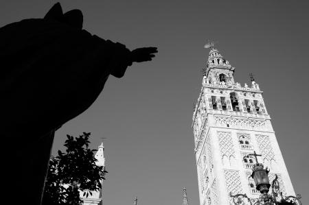 La Giralda. Sevilla, Andalucía, España.