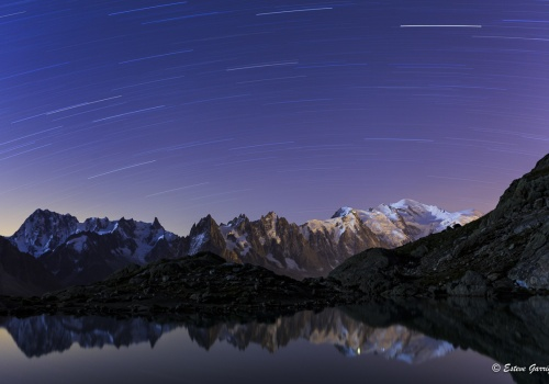 lac, france, francia, nocturna, mont blanc, esteve garriga, stairtrail