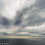 Núvols al mar
