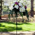 Arreglos florales boda Finca Los Pinos