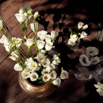Arreglos florales boda Hotel Rural Los Molinos