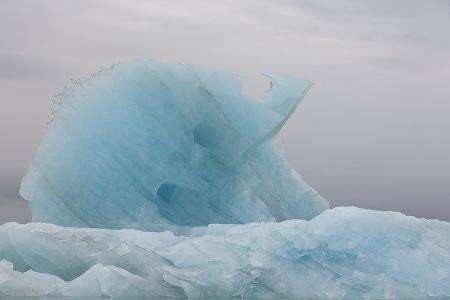 Svalbard Glaciar, Mar de Barents