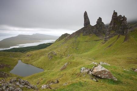 Old Man of Storr, Skye Isle Scothland