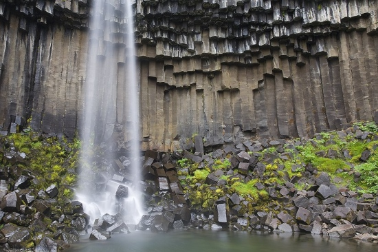 Islandia Svartifoss