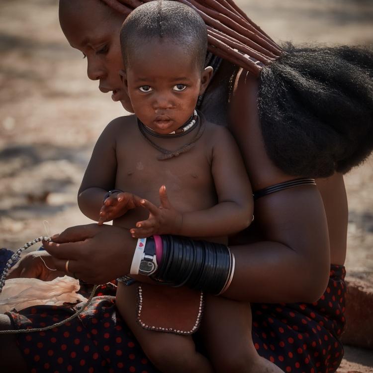Familia himba (Namibia)