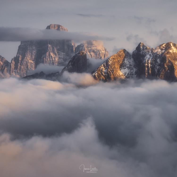 Monte Pelmo y Civetta