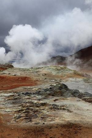 Mývatn, Islandia
