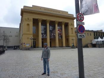 The Innsbruck State Theatre (Austria). Premiere of The Burning Village Ballet (Das brennende dorf). April, 2012