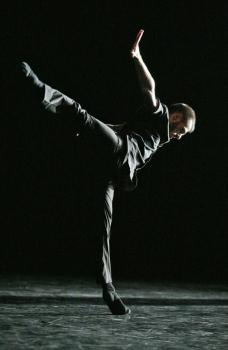 Denis Bruno (Performing Arts Award 2009) in a scene from Brishen ballet. Photo: Jesús Robisco