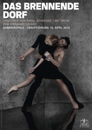 The Burning Village Ballet poster