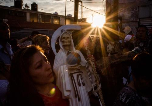 CULTO A LA SANTA MUERTE EN MÉXICO