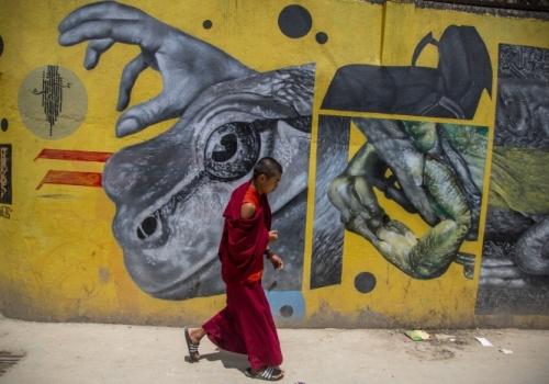 ANIVERSARIO DE BUDA: NEPAL