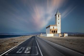"""Iglesia """"Almadraba"""", Cabo de Gata"""