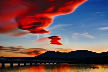 Nube roja