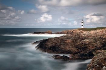 Faro de Isla Pancha (Ribadeo - Lugo)