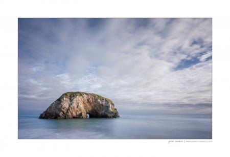 beaches and cliffs