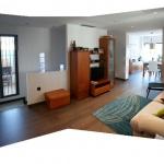 Zona de ampliacion Comedor, salon y escalera al sotano