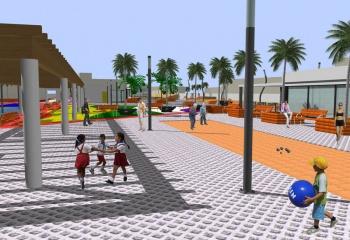 """Plaza """"Jasmiler"""" Teulada"""