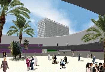 centro de negocios en Tripoly Libya en colaboracion con Ernesto Juan Ortiz Arquitecto