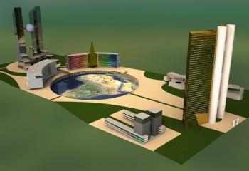 centro de negocios en Tripoly Libya en colaboracion con Ernesto Juan Ortiz Arquitect