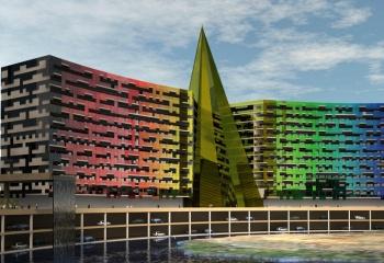 Hotel 5 estrellas en Tripoly Libya en colaboracion con Ernesto Juan Ortiz Arquitect