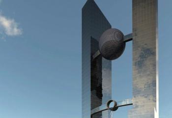 Torre del agua Oficinas en Tripoly Libya en colaboracion con Ernesto Juan Ortiz Arquitecto