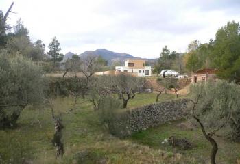 Vivienda Refugio en Sella Alicante, anteproyecto Javier Perez Vera Arquitecto