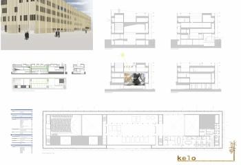 Biblioteca publica Helsinki en colaboracion con Enrique Argente, Luis Moscardó y Cristóbal M Montesinos