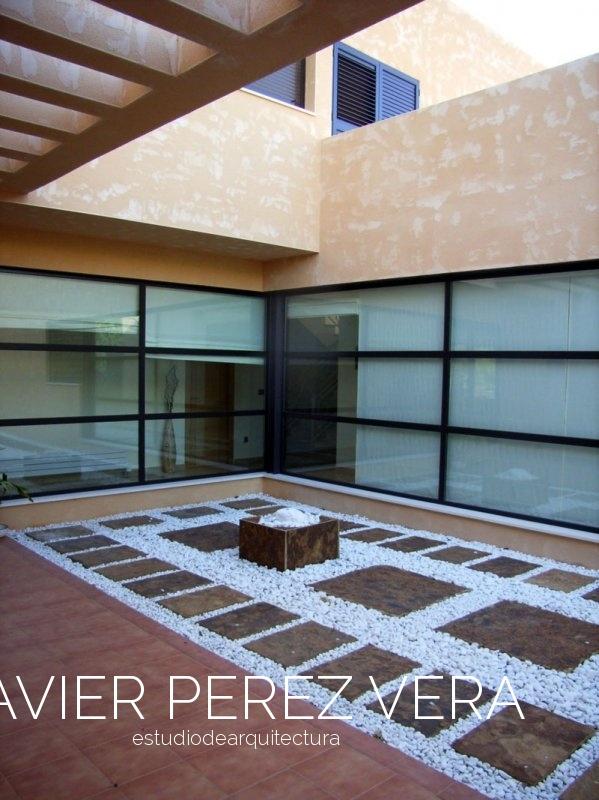 VIVIENDA CON PATIO 05 Petrer - Vivienda con Patio - Vivienda Patio. Arquitecto Petrel, Arquitecto Elda
