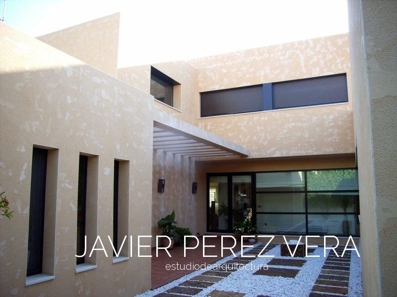 VIVIENDA CON PATIO 06 - Vivienda con Patio - Vivienda Patio. Arquitecto Petrel, Arquitecto Elda