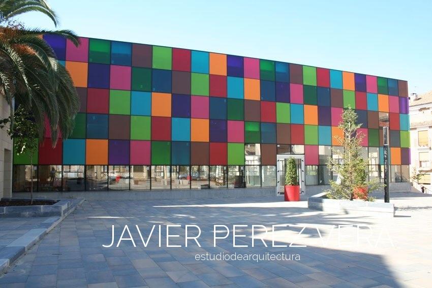 PLAZA RICO IBI 01 - Plaza Rico IBI, Alicante - Espacio Publico