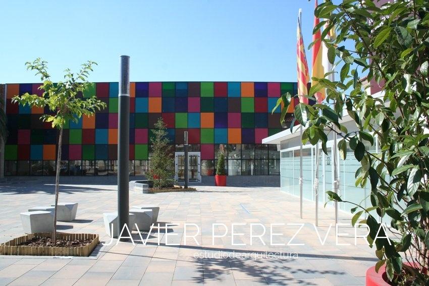 PLAZA RICO IBI 03 - Plaza Rico IBI, Alicante - Espacio Publico