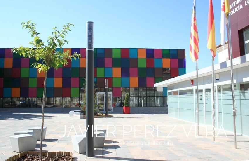 PLAZA de IBI 05 - Plaza Rico IBI, Alicante - Espacio Publico