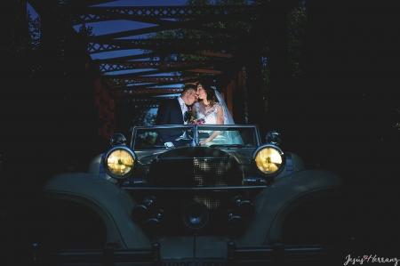 Fotos de posados con el coche