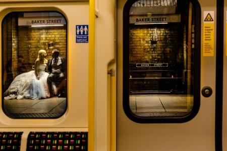 Baker Street Trash The Dress