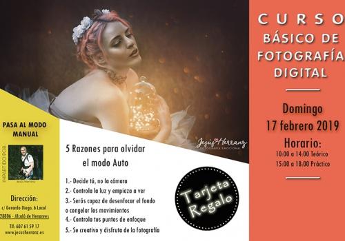 Curso Iniciación a la Fotografía Digital 17/02/2018