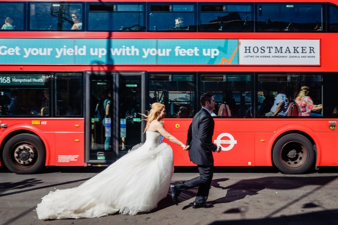 Candem Town Trash the Dress