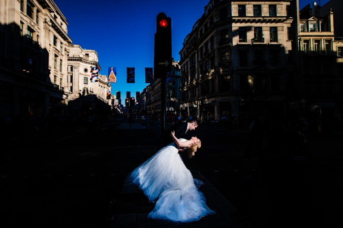 London Street Trash the Dress