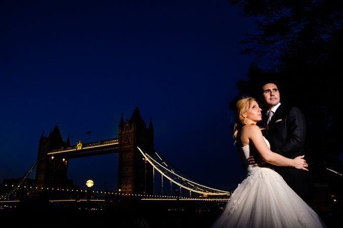 Tower Bridge Trash The Dress