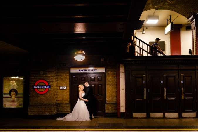 Baker Street Trash The Dress
