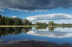 Lago de Piispajärvi, Finlandia