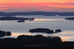 Pielinen lake, Koli, Finland
