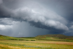 Storm over Agoncillo, La Rioja (Spain)