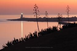 Atardecer en Tarifa, Parque Natural del Estrecho (Cádiz)