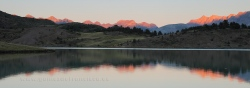 Sunset at Tramacastilla Lake, Tena Valley, Pyrenees (Spain)