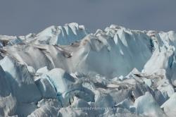 Glaciar en Qalerallit, Groenlandia